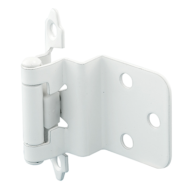 "Picture of R 7205 - INSET HINGE, 3/8"" SELF-CLOSE, FLUSH, WHITE"