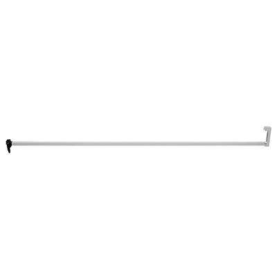 Picture of S 4013 - Security Bar Lock, 4' Long, Aluminum, w/ steel hinge