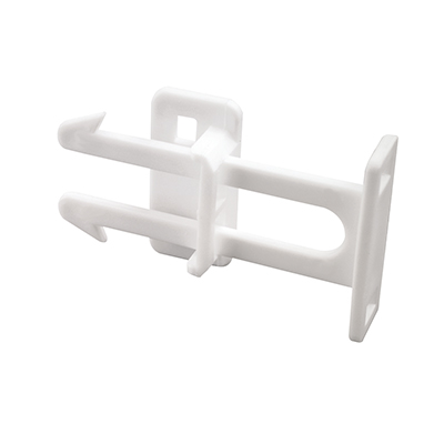 Picture of S 4439 - Drawer Catches, Plastic, White