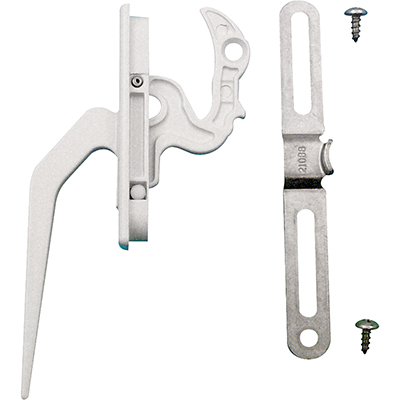 Picture of TH 23094 - Locking Handle, Diecast Zinc, White