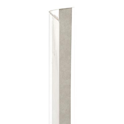 Picture of U 10081 - Corner Shield, w/ Tape, 3/4 In. x 48 In., Clear