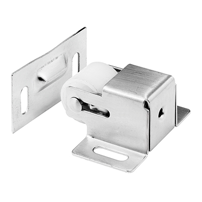 Picture of U 10416 - CABINET/CLOSET DOOR ROLLER CATCH, SATIN NICKEL