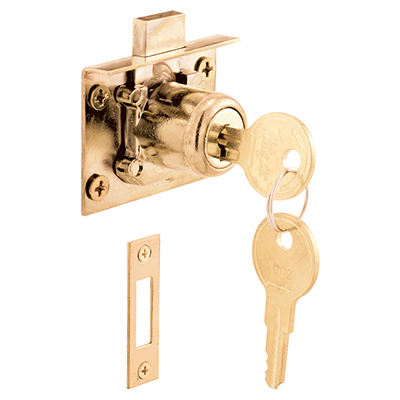 Picture of U 10666 - Drawer and Cabinet Lock , mortise installation