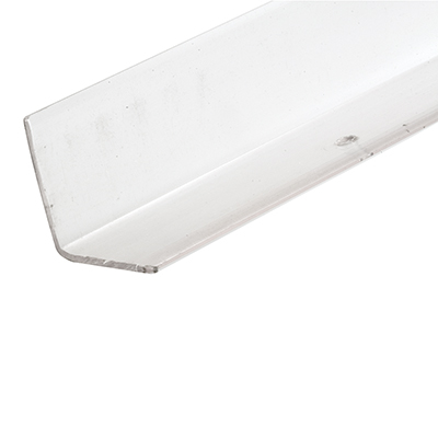Picture of U 10075 - Corner Shield, 1-1/8 In., Vinyl Clear, with Holes