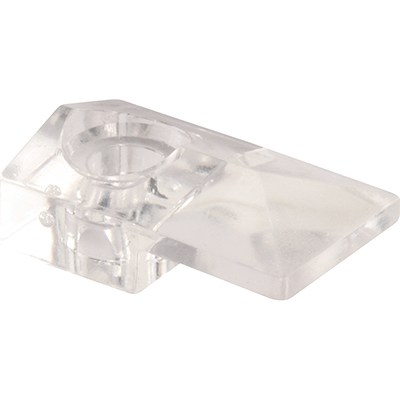 """Picture of 193676 - MIRROR CLIP, MODERN, 1/8"""" GLASS, W/SCREW & ANCHOR"""